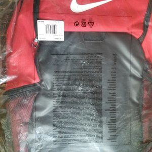 "Nike Black & Red 15"" BookBag Backpack Laptop Bag"